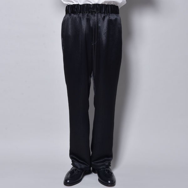 rin / Loose Satin Pants BK