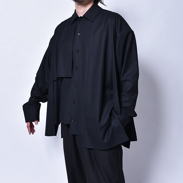 rin / Put on L/S Shirt BK