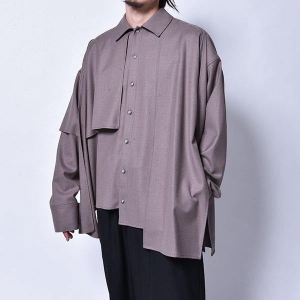 rin / Put on L/S Shirt GREY