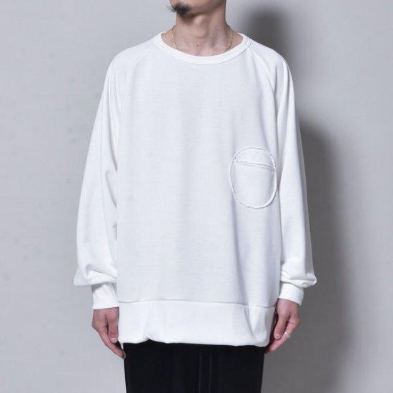 メンズファッションrin / Raglan Rownd Pocket Sweat WH