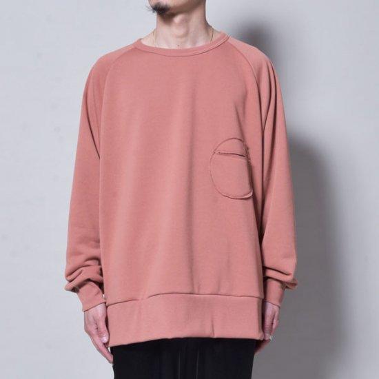 メンズファッションrin / Raglan Rownd Pocket Sweat  SALMON