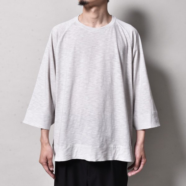 rin / Wide Short s/s Tee L.GREY