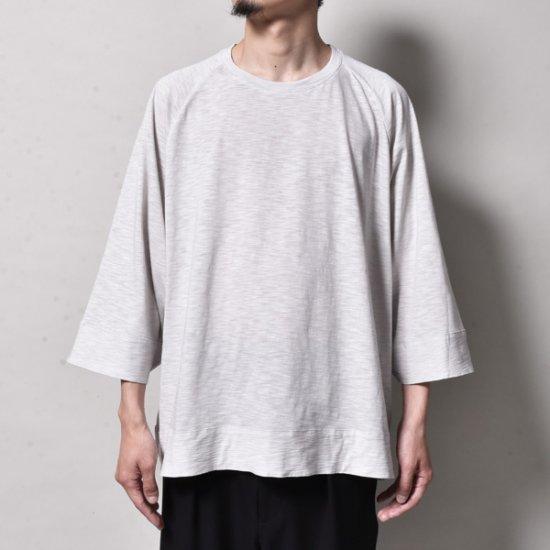 メンズファッションrin / Wide Short s/s Tee L.GREY