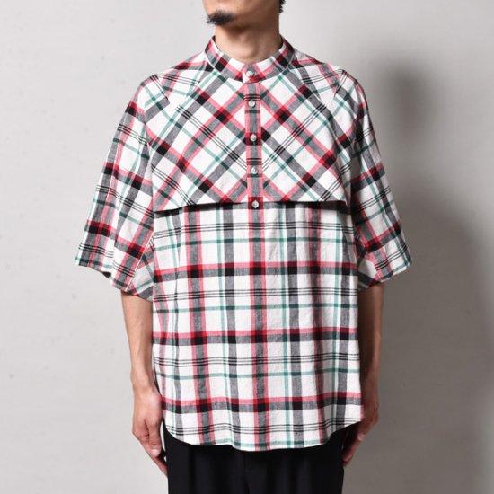 メンズファッションJERIH / CHECK S/S SHIRT