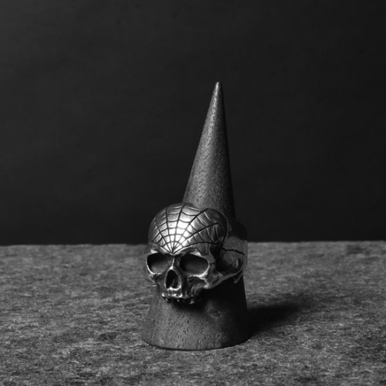 Dog State / Webbed Skull Ring