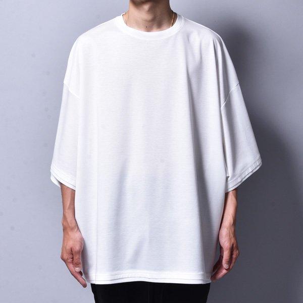 rin / Dolman Silky Big T-Shirt WH