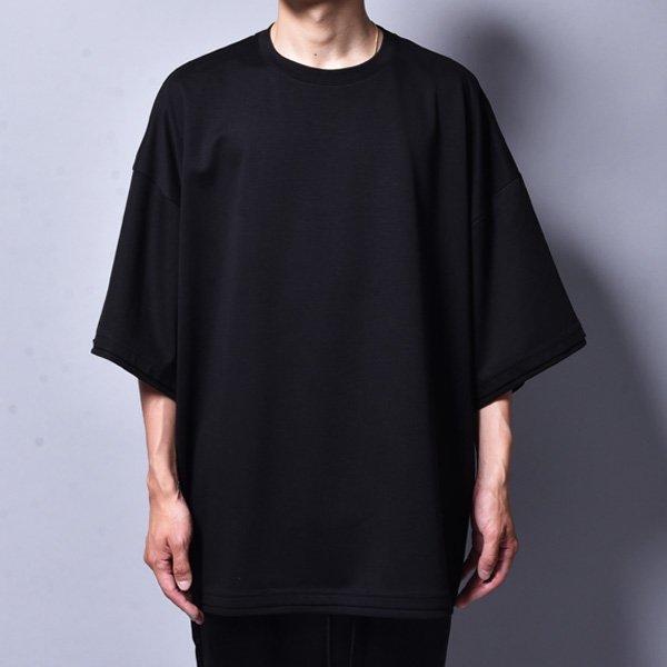 rin / Dolman Silky Big T-Shirt BK