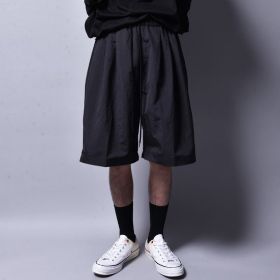 rin / Amphibious Big Shorts Pants BK