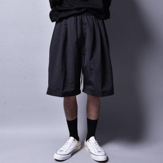 メンズファッションrin / Amphibious Big Shorts Pants BK