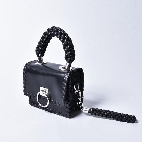 OBERKAMPF / BEAU MASQUE SMALL SHOULDER BAG