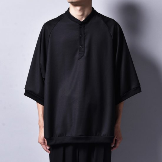 rin / Polo Loose T Shirt BK