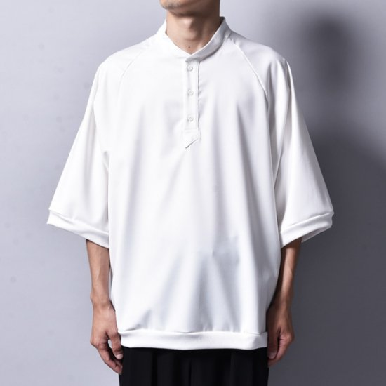 rin / Polo Loose T Shirt WH