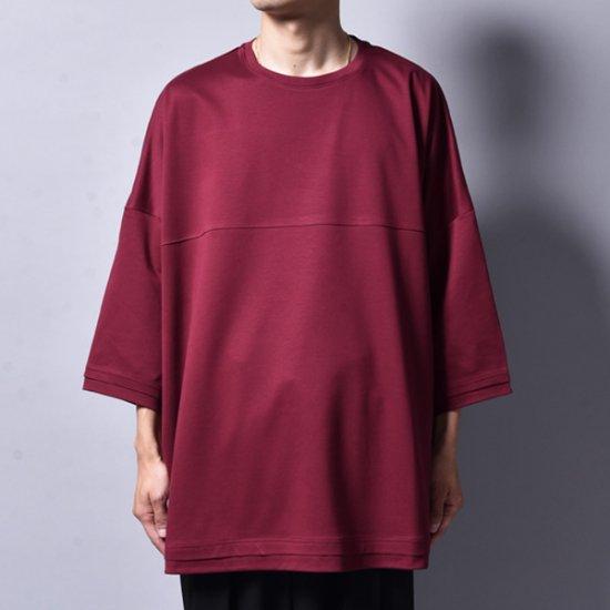 メンズファッションrin / Foot Silky Big T-SHIRT YUKARI