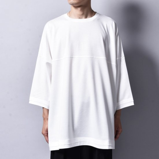 rin / Foot Silky Big T-SHIRT WH