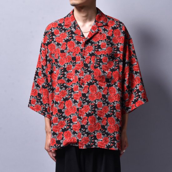 rin / GARA Loose OP S/S Shirt RED