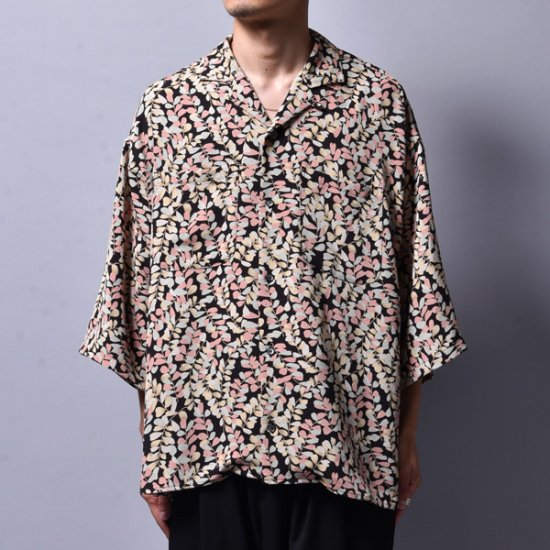 rin / GARA Loose OP S/S Shirt MULTI