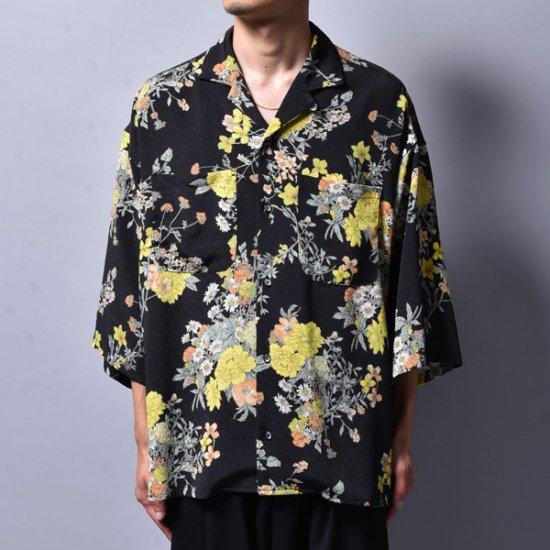 rin / GARA Loose OP S/S Shirt YEL BK