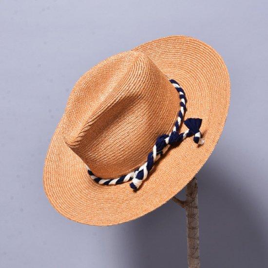 SUPER DUPER HATS / DROP CROWN LARGE 別注 OLD STRAW