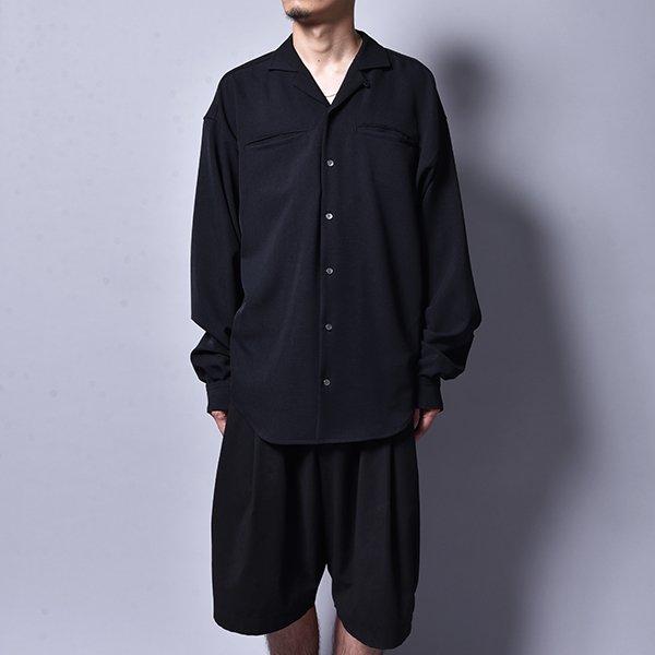 rin / Loose OP L/S Shirt BK