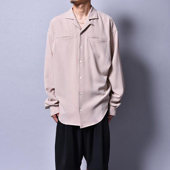 rin / Loose OP L/S Shirt PINK BEI