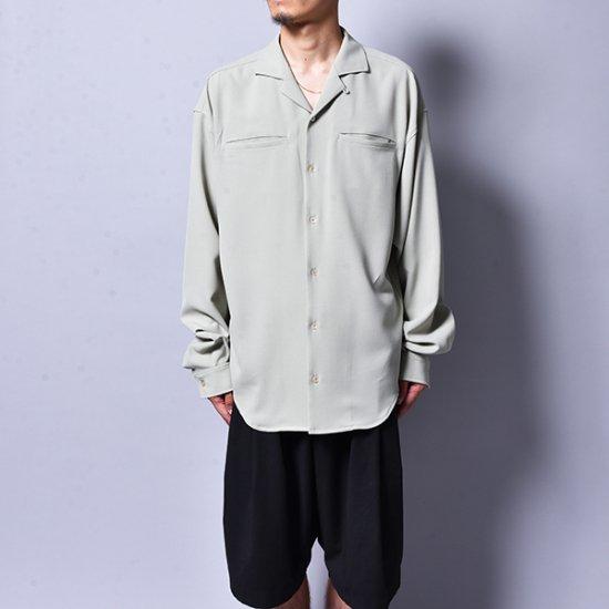 rin / Loose OP L/S Shirt GREEN MINT