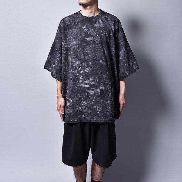 rin / Tie Dye Dust Dolman T Shirt BK