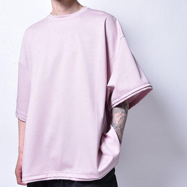rin / Dolman Big T Shirt PINK