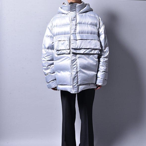 JERIH / Silver Down Puffer Jacket