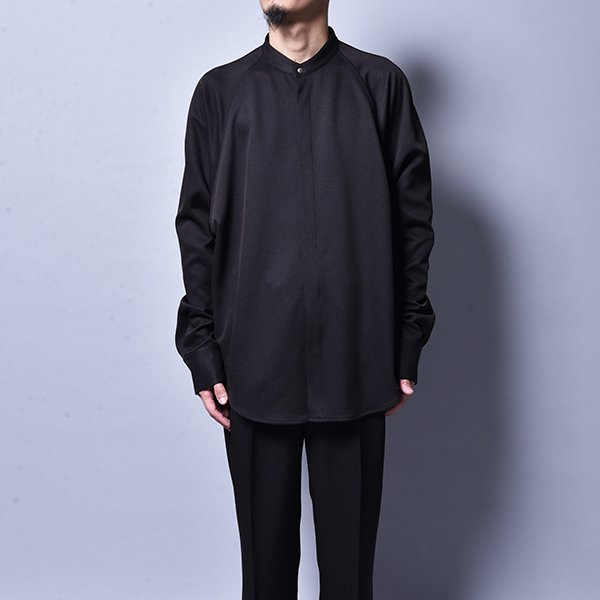rin / Dolman Snap Shirt Light JKT BK
