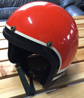 70'S VintageJet American Sports orange Msize(about 57cm) インナーリペア済み