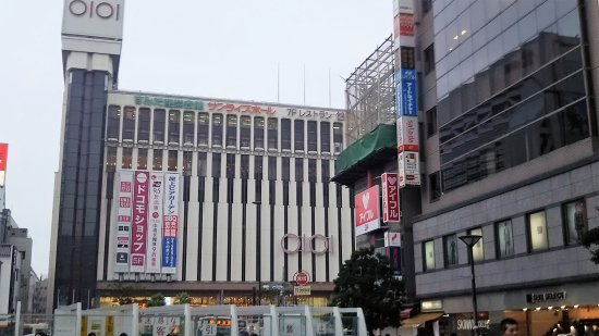 錦糸町丸井ーガラスコーティング