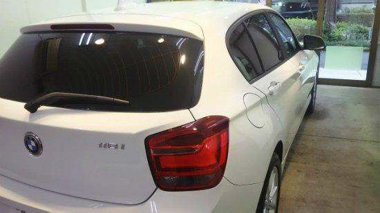 BMW116i.ガラスコーティング