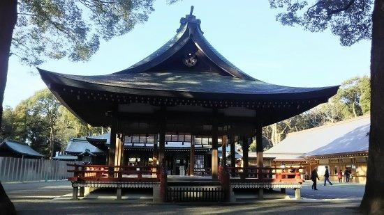 氷川神社ー車コーティング