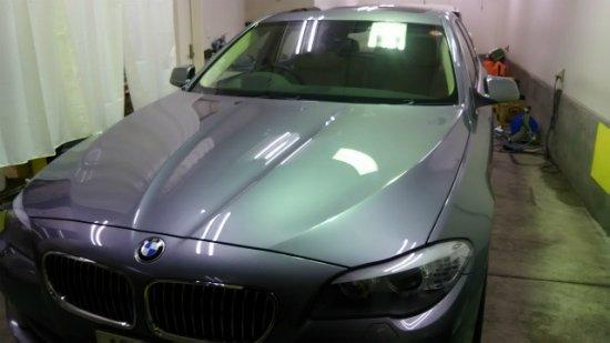 BMW535i.ガラスコーティング