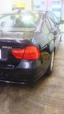 BMW320i.ガラスコーティング