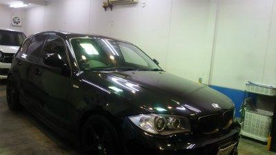 BMW116.ガラスコーティング