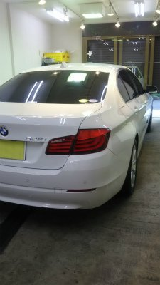 BMW528i.ガラスコーティング