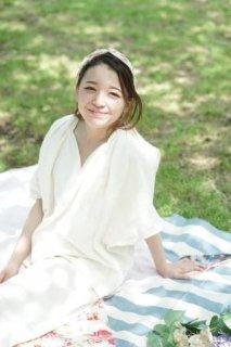 プリンセスライン 5分袖パジャマ(ウエストゴムタイプ)