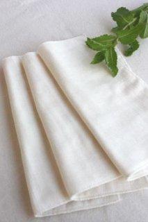 ホルダー付き布ナプキン用 ガーゼハンカチ3枚セット