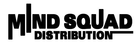 MIND SQUAD DISTRIBUTION公式オンラインショップ