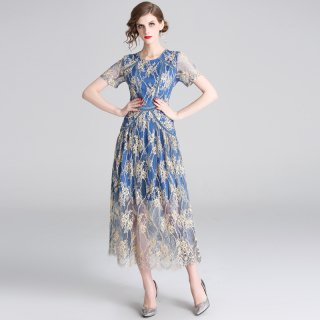上品な透け感でエレガントに◇ロングドレス ワンピース 大きいサイズ