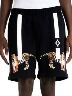 MARCELO BURLON×Tyga SHORTS《Black》