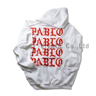 Paris pop-up Collection PABLO Hoodie 《White》