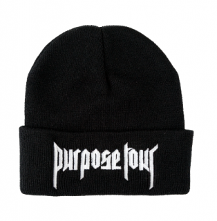 Purpose Tour Beanie《Black》