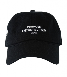 World Tour Dad Cap《Black》