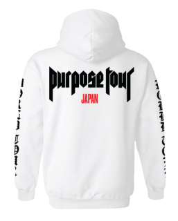 Purpose Tour Japan Hoodie《White》