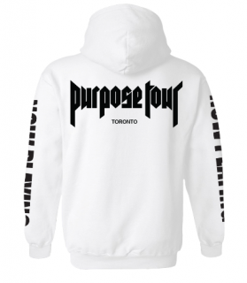 Purpose Tour Toronto Hoodie《White》
