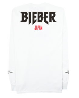 Bieber Japan Longsleeve Shirt《White》