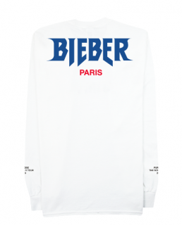 Bieber Paris Longsleeve Shirt《White》