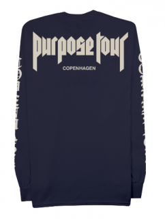 Purpose Tour Copenhagen Longsleeve Shirt《Navy》